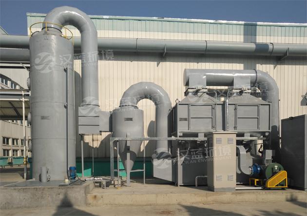 河北汉蓝VOCs废气净化设备-废气燃烧炉